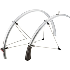 "SKS B35 Mudguard 28"" with reflector strips silver"